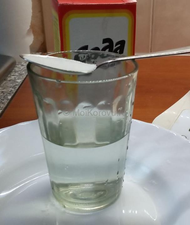 Интрацистернальный раствор соды 3% для растворения молочного камня