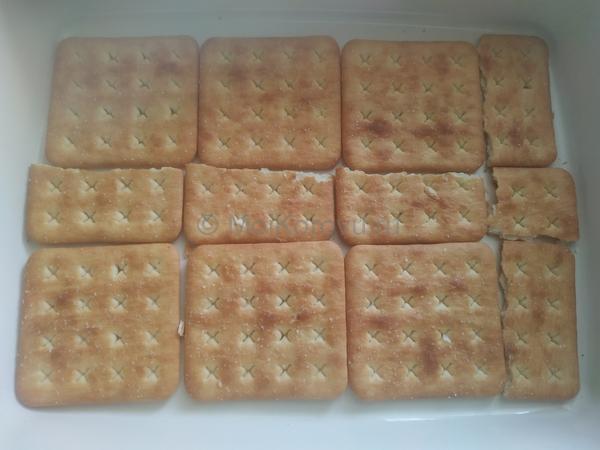 выложить печенье. Быстрый ленивый пирог без выпечки за 25 минут. Молоко, сыр, сливки и печенье